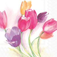 Tulip Season Lunch Napkin