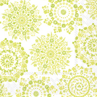 Lilly Light Green Lunch Napkin