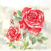 Rose Boutique Red Lunch Napkin
