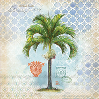 Royal Palm Lunch Napkin