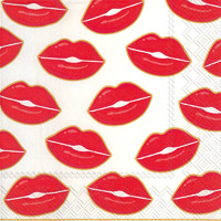 Kisses For You Lunch Napkin