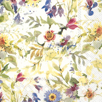Packed Flowers Lunch Napkin