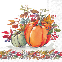 Fall Pumpkins Lunch Napkin