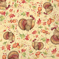 Turkey Toss Lunch Napkin