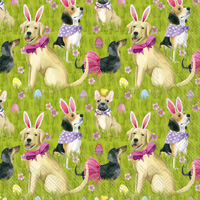Bunny Dogs Lunch Napkin