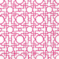 Rosanne Beck Aiko Pink Lunch Napkin