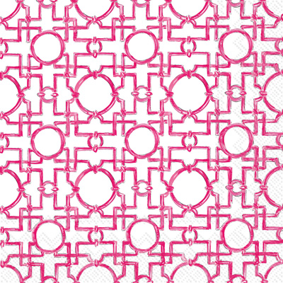 Aiko Lunch Napkin pink