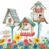 Birdhouse for Rent Lunch Napkin