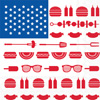 Eat Drink Host Stars & Stripes Cookout Lunch Napkin