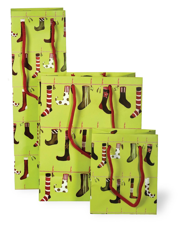 Crazy Christmas Stockings Mini Gift Bag