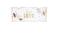 My Design Co. Cracker Card Luxe Snowflake