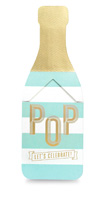 My Design Co. Champagne Pop Cracker Card Celebrate