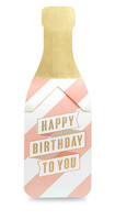 My Design Co. Champagne Pop Cracker Card Birthday