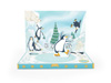 My Design Company Music Box Card Penguin Adventure