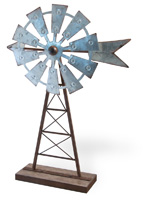 Farmhouse Style Windmill Decor