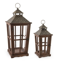 Orleans Hex Lanterns (Set of 2)