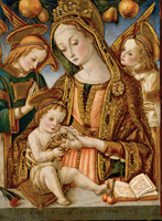 Crivelli Madonna & Child Holiday Cards