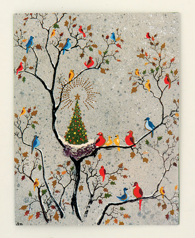 the met dehn avian holiday boxed holiday cards - Boxed Holiday Cards