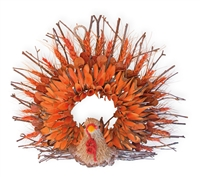 Twig & Husk Terry Turkey Wreath