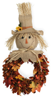 Scarecrow Sam Wreath