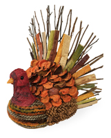 Twig Weave Small Turkey