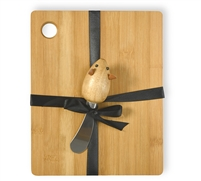Mouse Cutting Board & Spreader Set