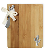 Cactus Cutting Board & Spreader Set