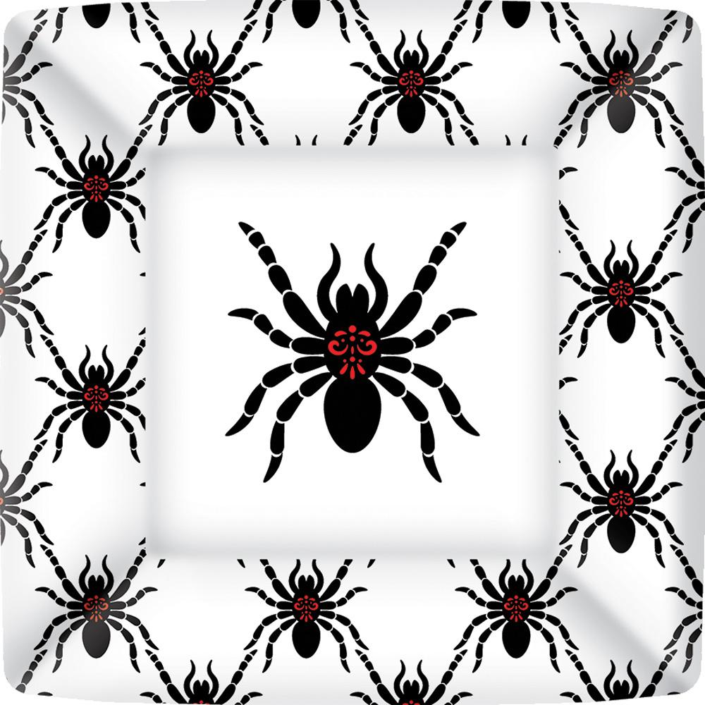Rosanne Beck - Black Spiders Square Paper Dinner Plate  sc 1 st  Boston International & Rosanne Beck Black Spiders Square Paper Dinner Plate