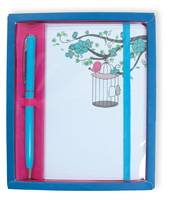 Caged Bird Gift Set