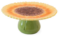 Helianthus Annuus Cake Stand