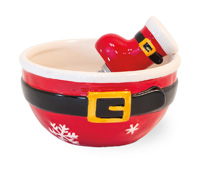 Santa Belt Bowl & Spreader Set