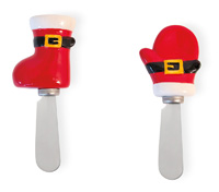 Santa Boot & Glove Spreader Set