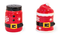 Santa Belt Salt & Pepper Set