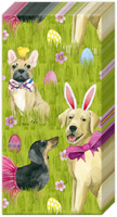 Bunny Dogs Pocket Tissue