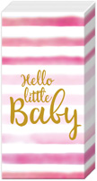 Hello Baby Light Rose Pocket Tissue