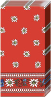 Edelweiss Red Pocket Tissue