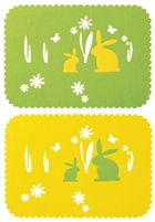 Bunny Placemats (Set of 12)
