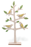 Springtime Birds in Tree
