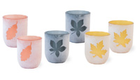 Nutz Leaf Tealights Set