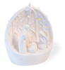 Alabaster LED Nativity