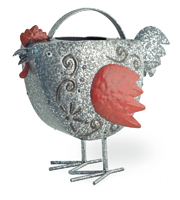 Berty Red Hen Watering Can