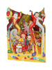 Santoro Big Top Clowns Display Swing Card