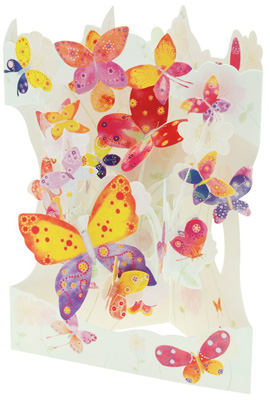 Santoro Butterfly Cloud Swing Card