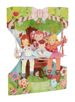 Santoro Ragdolls Swing Card