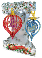 Santoro Baubles Display Swing Card