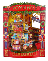 Santoro - Christmas Toy Shop Swing Card