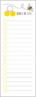 Honey Do List Long List Pad
