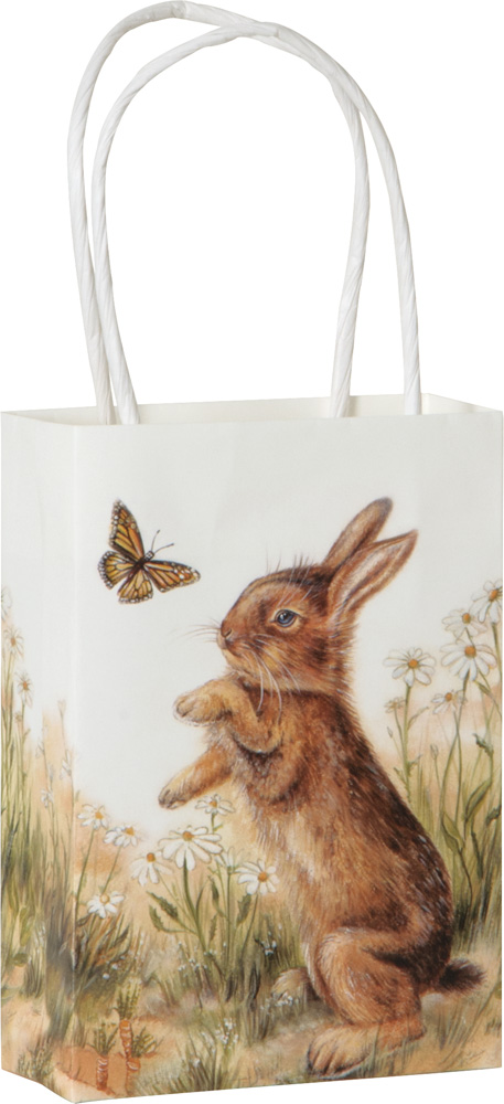 bunny and clyde small gift bag
