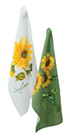 Helianthus Annuus Tea Towels