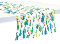 My Little Green Cactus Table Runner